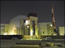 Bushehr nuclear power plant, Iran (file image)
