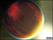 Artist's impression of a Jupiter-size exoplanet - NASA/JPL-Caltech/T. Pyle (SSC)