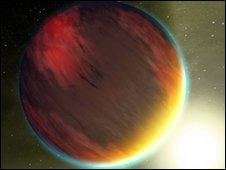 Artist's impression of a Jupiter-size exoplanet - NASA/JPL-Caltech/T. Pyle (SSC)
