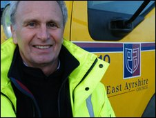 John Bryson - Head of Roads for East Ayrshire
