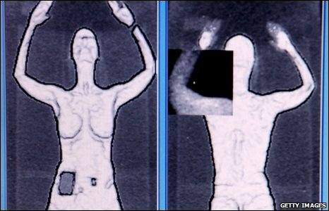 New airport body scanner image