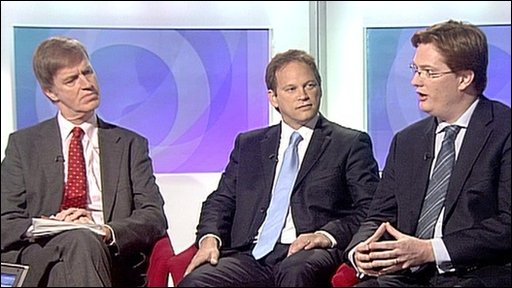 Stephen Timms, Grant Shapps and Danny Alexander