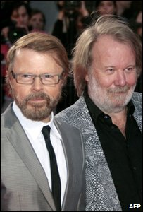 Benny and Bjorn from Abba