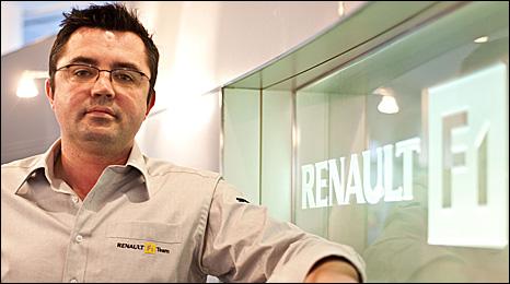 New Renault boss Eric Boullier