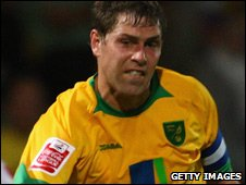 Norwich City striker Grant Holt