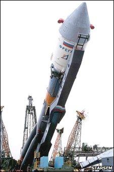 Soyuz rocket (Arianespace/Starsem)