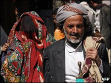 Yemenis in Sanaa