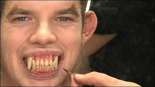 Russell Tovey as a werewolf