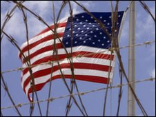 US flag at Guantanamo Bay, Cuba (file image)