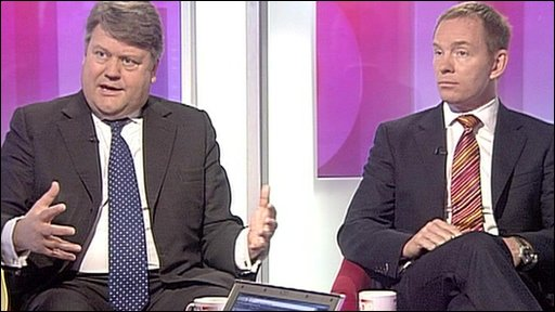 Lord Strathclyde and Chris Bryant