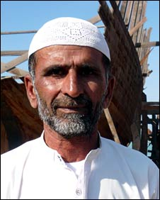 Haji Saleh Muhammed, crane operator