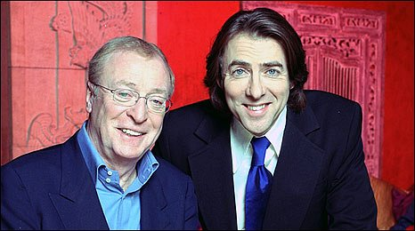 Jonathan Ross and Sir Michael Caine