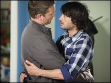 Eastenders characters Christian and Syed
