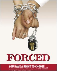 Poster campaign for Forced Marriage Unit