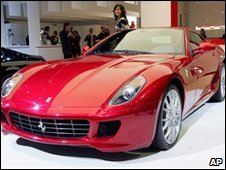 Generic pic of a Ferrari
