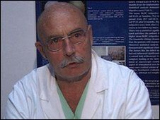 Surgeon Mr Marcacci