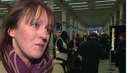 Eurostar spokeswoman
