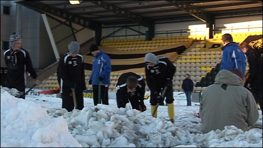 Livingston's clearing efforts are in vain