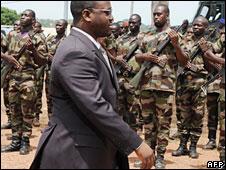 Ivorian Prime Minister Guillaume Soro in Bouake last year