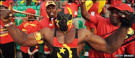 Angolan fans