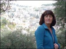 Jane Corbin in East Jerusalem
