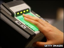 Fingerprint check, Getty