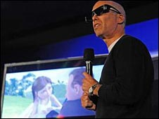 Jeffrey Katzenberg, head of Dreamworks Animation