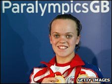 Double Paralympic gold medallist Ellie Simmonds