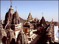 Jain temples in Palitana