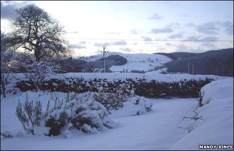 The view at Llandrillo, near Corwen
