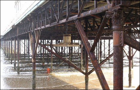 Pier supports