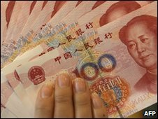100 yuan notes - file photo