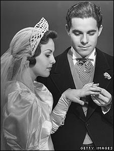 Bride in 1950