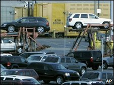 Chrysler car shipment