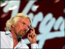 Richard Branson of Virgin