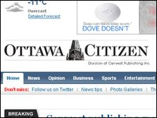 Ottawa Citizen website