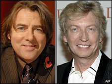 Jonathan Ross and Nigel Lythgoe