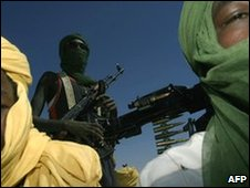 Members of Sudan Liberation Army (SLA)