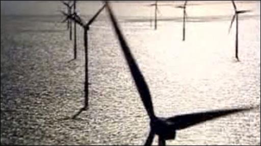 Windfarm turbines