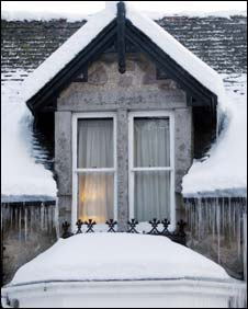 House in in Braemar, Scotland,