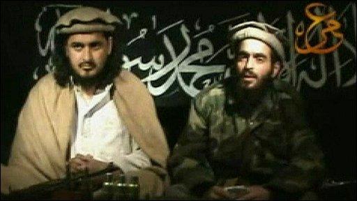 Hakimullah Mehsud and Humam Khalil Abu-Mulal al-Balawi