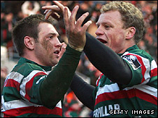 Johne Murphy (left) and Scott Hamilton