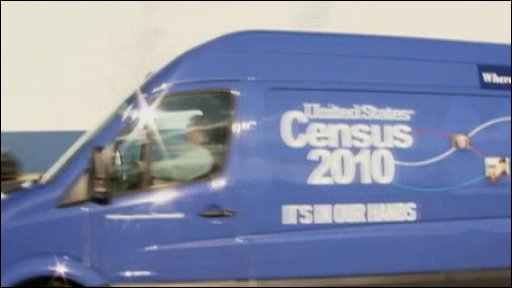 US census vehicle