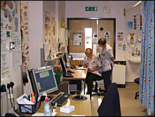Nurses at Cumberland Centre Plymouth