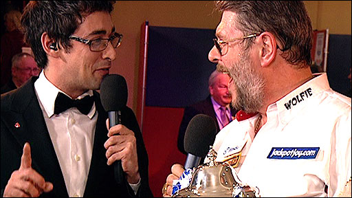 Colin Murray interviews Martin 'Wolfie' Adams