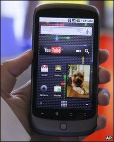 Nexus One phone, AP