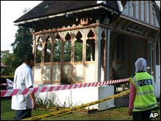 A church and convent were attacked in Taiping