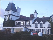 The Deganwy Castle Hotel is in a Grade II listed building