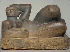 Reclining Figure, Henry Moore