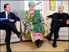David Cameron, Camilla Batmanghelidjh and Frank Field